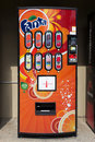 Fanta Soda Machine Stock Photography