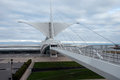 Fantastic architecture Milwaukee Art museum, Wisconsin, USA Royalty Free Stock Photo