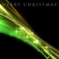 Fantastic Christmas wave design with snowflakes Royalty Free Stock Photos