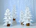 Fantastic Forest Of Paper Chri...