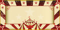 Fantastic grunge circus invitation Royalty Free Stock Photos