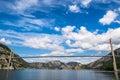 Fantastic nature landscape, Lysefjorden, Forsand, Norway, Europe Royalty Free Stock Photo