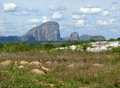 The fantastic nature of mozambique mountains africa mozambiqu Stock Photography