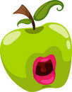 Fantasy apple vector Royalty Free Stock Images