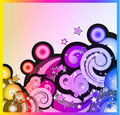Fantasy Bubbles Background Royalty Free Stock Images
