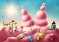 Fantasy candyland Royalty Free Stock Photo