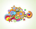 Fantasy colorful Background Stock Image