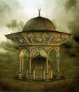 Fantasy gazebo 2 Royalty Free Stock Image