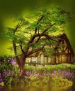 Fantasy Gnome House Royalty Free Stock Photo