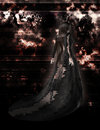 Fantasy Gothic Woman 300 dpi Royalty Free Stock Photos