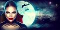 Fantasy Halloween Woman Portra...