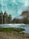 Fantasy Landscape Royalty Free Stock Image