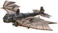 Fantasy Retro Airship