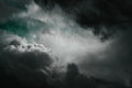 Fantasy stormy sky Royalty Free Stock Photo