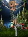 Fantasy Toon Figure Royalty Free Stock Photo
