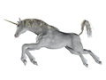 Fantasy unicorn jumping