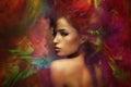 Fantasy woman sensation