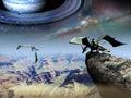 Fantasy world Royalty Free Stock Photo