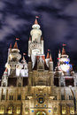 Far Far Away Castle at Universal Studios Singapore Royalty Free Stock Photos