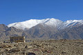 The far norther part of india leh in ladakh Royalty Free Stock Photos