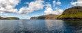 Far Oer Danmark Vestmanna Cliffs Royalty Free Stock Photo