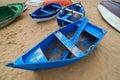 Farbige Boote Stockfoto