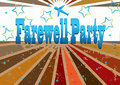 Farewell Party Banner_eps Royalty Free Stock Photo