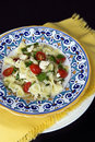 Farfalle (Bow) Pasta Salad Royalty Free Stock Photos