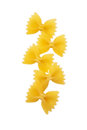 Farfalle bows pasta Stock Photography