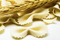 Farfalle Capellini Texture Royalty Free Stock Photo