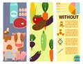 Farm cards vector illustration nature food harvesting grain agriculture growth cultivated design.