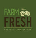 Farm design over green background vector illustration Stock Photos