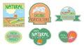 Farm food stickers