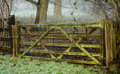 Farm gate Royalty Free Stock Photo