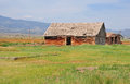 Farm house american west western landscape in colorado usa Stock Images