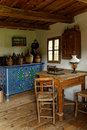 Farm house in southeast of austria the interior a the as it was used around Stock Images