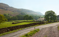 A farm in the lake district national park cumbria england uk Royalty Free Stock Photography
