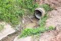 Farm pipeline Royalty Free Stock Photo