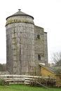 Farm silo on a Stock Photos