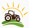 Farm symbol Royalty Free Stock Photo
