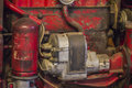 Farm tractor parts Royalty Free Stock Photo