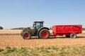 Farm tractor Royalty Free Stock Photo