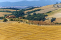 Farm in Val d'Orcia (Tuscany) Stock Photos