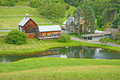 Farm in Woodstock Vermont