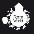 Farm world Royalty Free Stock Image