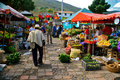 Farmer´s market, Villa de Leyva, Colombia Stock Photo