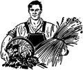 Farmer With Fresh Produce