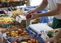 Farmer's Market Royalty Free Stock Photo