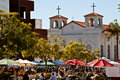 Farmers Market, Little Italy, San Diego Stock Images