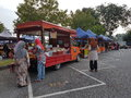 Farmers market at paroi jaya seremban negeri sembilan at malaysia a also is a physical retail featuring foods sold directly by to Stock Images